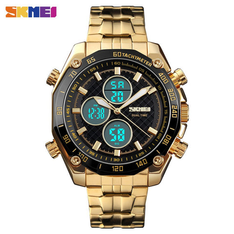 SKMEI Gold Men Watch