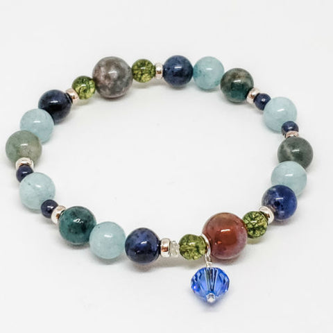 September Birthstone and Gemstone Bracelet