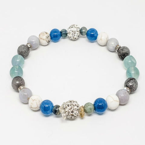 Crystals for creativity Healing Crystals Intention Bracelet