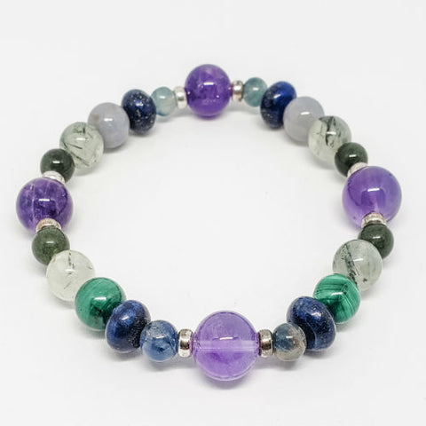 Dreams Intention Healing Crystals Bracelet