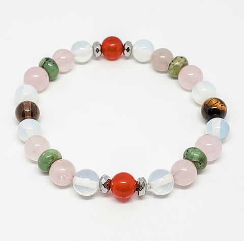 Image of Fertility Healing Crystals Bracelet