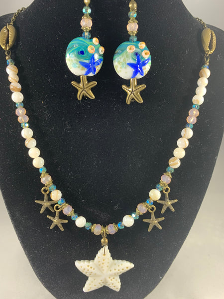 Shell bead Jewelry Set