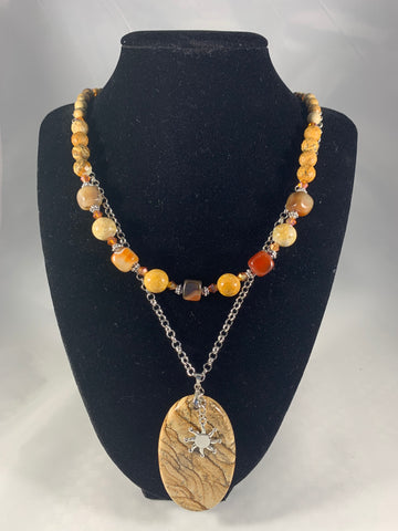 Two Strand Handmade Necklace