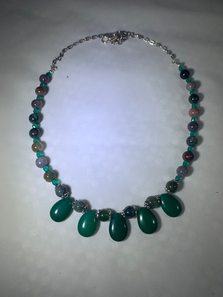 Natural Gemstone Handmade Necklace