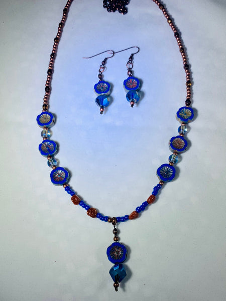 Czech Glass Jewelry Set