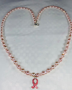 Breast Cancer Awareness Necklace