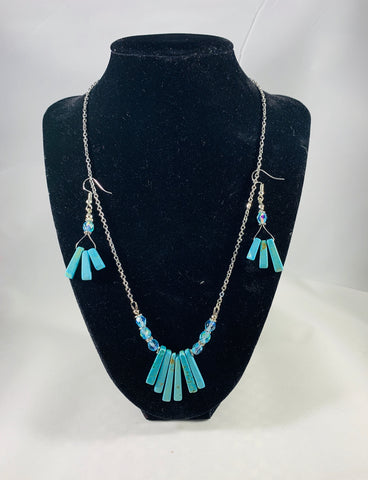 Sinkiang Turquoise Jewelry Set