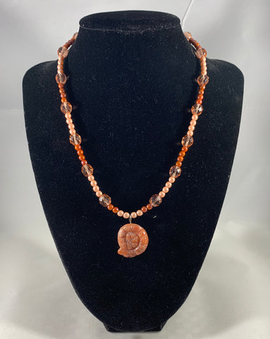 Ammonite Handmade Necklace