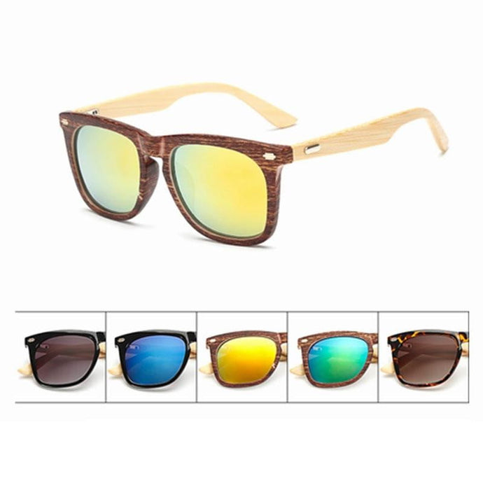 Wood Frame Bamboo Sun Glasses - Nature's Cosmos
