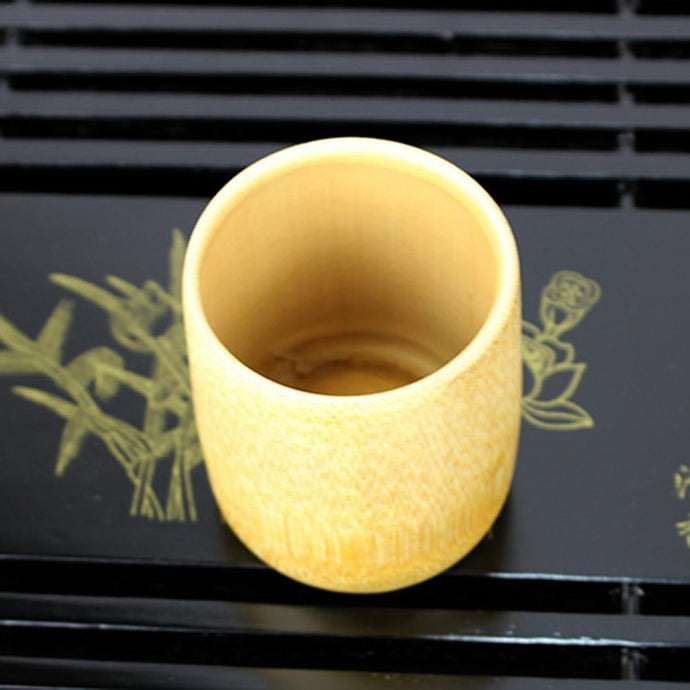 Hand Made Bamboo Cups - Nature's Cosmos