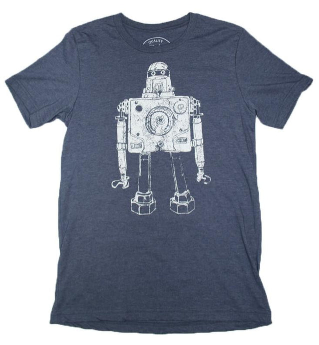 Mr Roboto Heather Navy - Nature's Cosmos