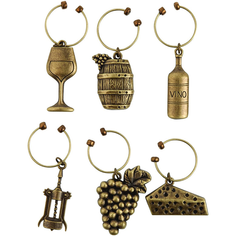 Wine Charms - Grapevine Vineyard