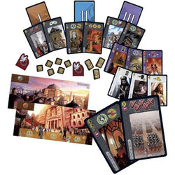 7 Wonders Cities Components