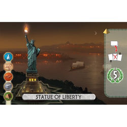 7 Wonders Duel Statue of Liberty