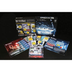 Detective A Modern Crime Board Game Components