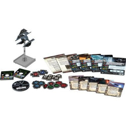 Star Wars X-Wing Miniatures Game – TIE Defender Expansion Pack Components