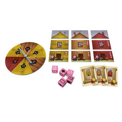 Tales & Games The Three Little Pigs Components