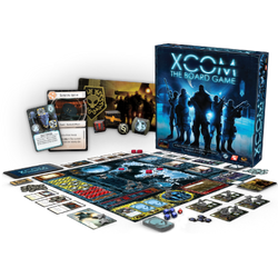 XCOM: The Board Game Components