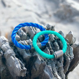 Beach recycled rings protect turtles ocean conservation