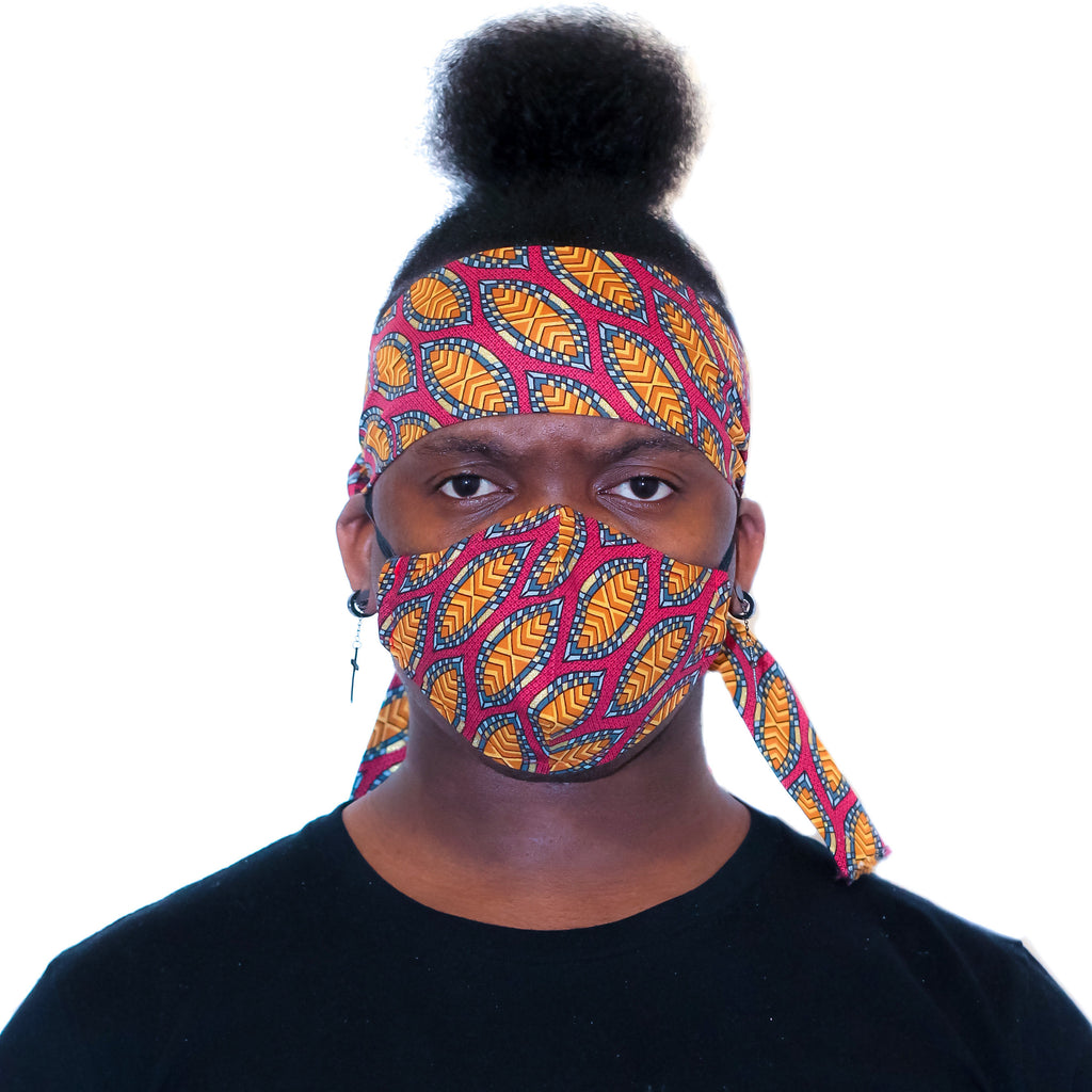 Ankara Head Band Scarf 1