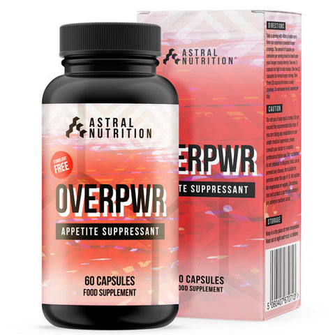 Overpwr Appetite Suppressant Pills