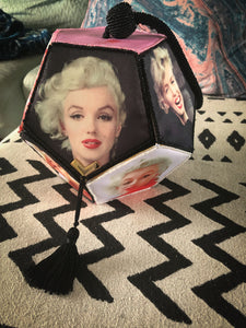 Marilyn Monroe Photos Satin Box Purse