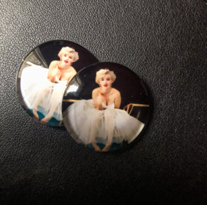 Marilyn Monroe Round Cabochons for DIY