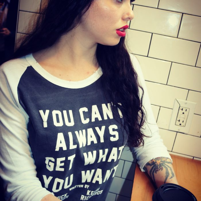 "Rolling Stones ""You Can't Always Get What You Want"" Code: TEES for 30% off"