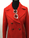 J. Crew Timeless Red Peacoat | XS
