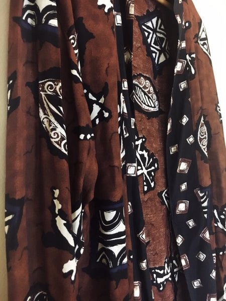 Norton McNaughton Tribal Blouse, size 14