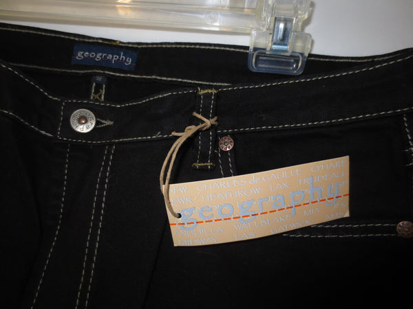geography Brand Jeans by Michelle Alcott