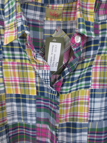 "Tulip Brand Clothing ""Madras Logan"" Shirt"