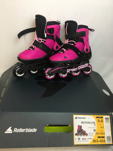 Rollerblades Kids Microblade G US Adjustable Size 5-8 Bubblegum Pink