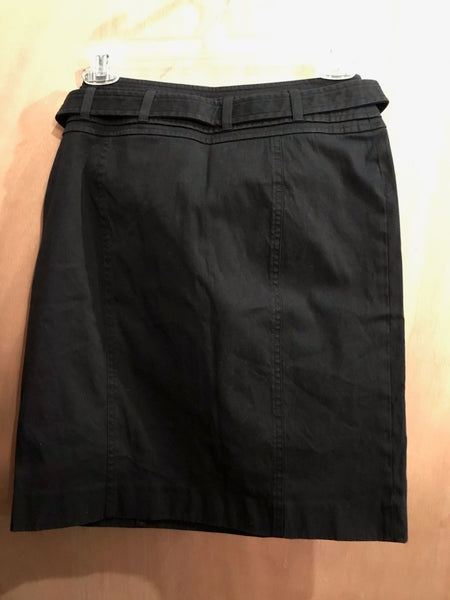 "Black Burberry Pencil Skirt 28"" Waist"