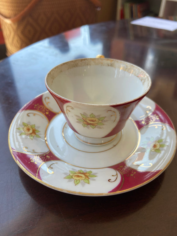 Ucagco China Demitasse cup and saucer