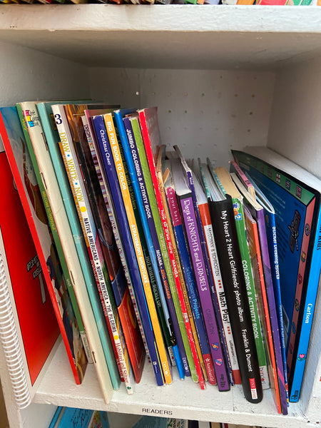 Book Donations - for MetroSquash library