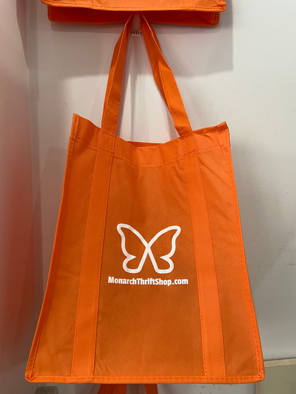 Monarch Reusable Grocery Shopping Tote Bag