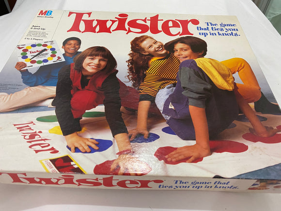 Twister- The Game That Ties You Up in Knots