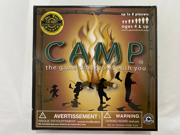 Camp- The Game That Grows with You