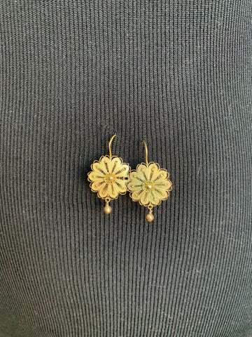 Vintage Gold Earings