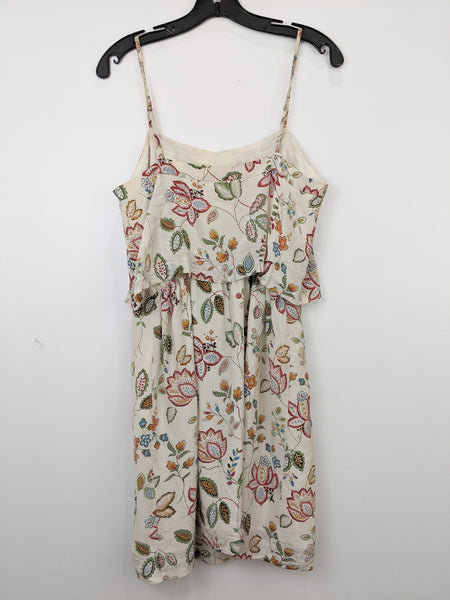 Madewell Cream Botanical Cami Mini Dress | 6