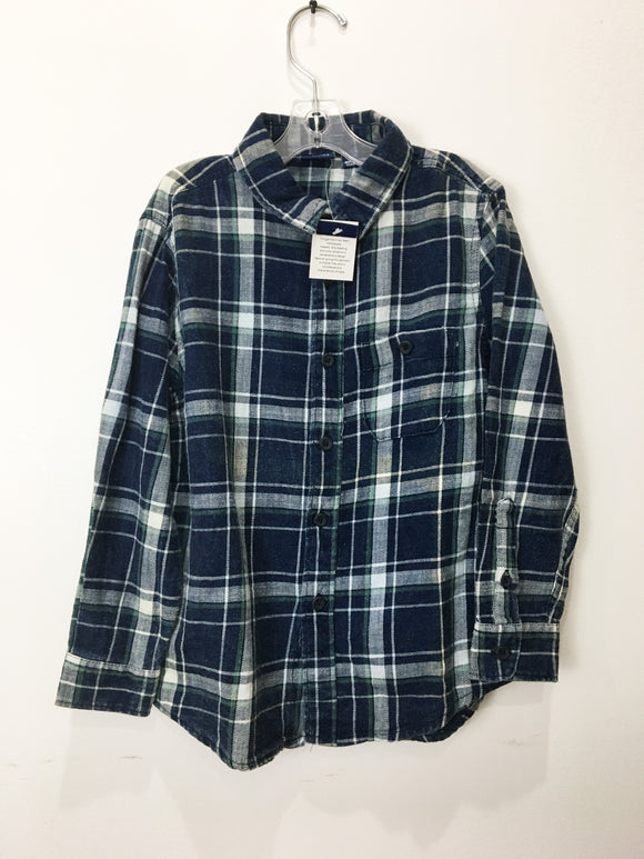 Bear Camp Flannel KidsTop | Size 14