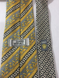 Gianni Versace Gold Silk Neck Tie