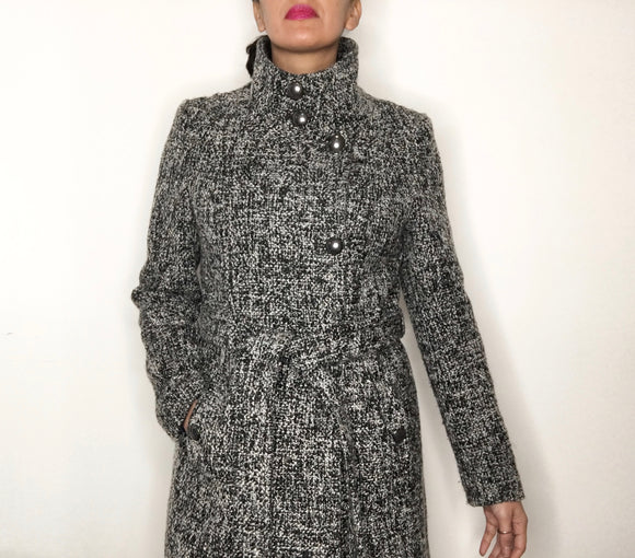 T Tahari Women's Tweed Coat | Size 12