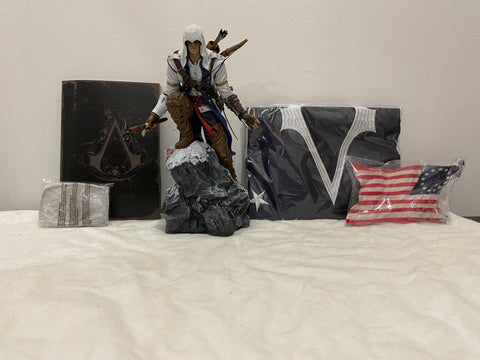 Xbox Assassin's Creed 3 Limited Edition Statue and Accessories