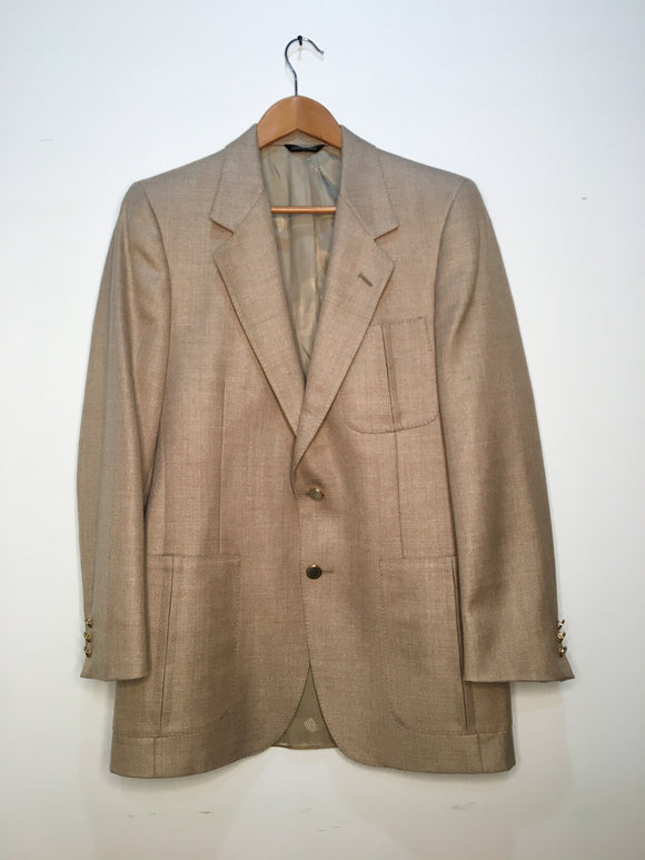 Donald Brooks Tan Sport Coat | Size M
