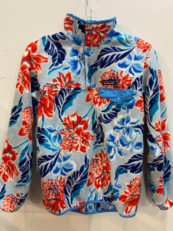 Patagonia Synchilla | Hawaiian Pullover Fleece Snap-T | XS