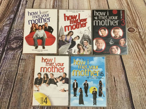 20th Century Fox's TV Series How I Met Your Mother DVDs Complete Seasons 1-5