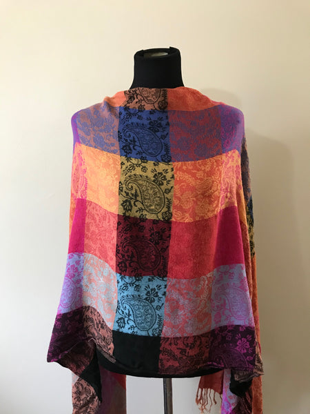 Multicolored Soft Shawl