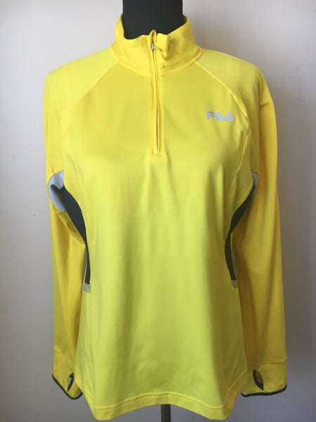 FILA Runner Top, Yellow Large